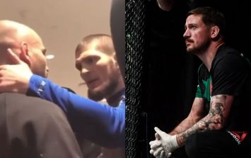 Khabib Nurmagomedov's manager would have been concerned for John Kavanagh's safety