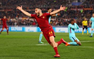 WATCH: Roma knock Barcelona out of Champions League in spectacular fashion