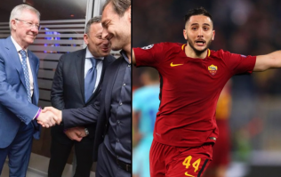Roma president hails Alex Ferguson as 'good luck charm' after Champions League heroics