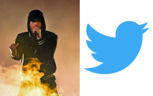 Uh oh, Eminem is now in charge of his own Twitter account