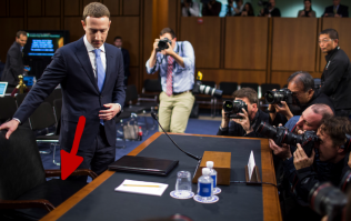 Mark Zuckerberg testified to congress using a booster seat and we have some theories