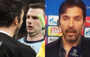Gianluigi Buffon absolutely destroys Michael Oliver in post-match interview