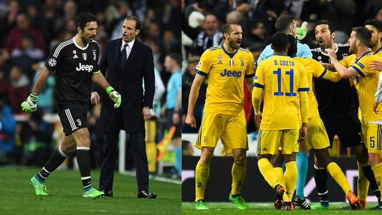 Referees can't be influenced by sentiment: Gianluigi Buffon - not Michael Oliver - got it wrong