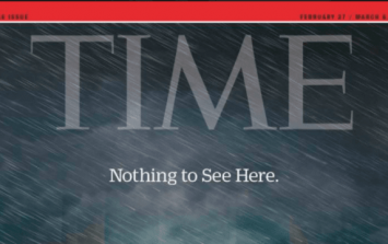 TIME magazine have once again outdone themselves with their latest Donald Trump cover
