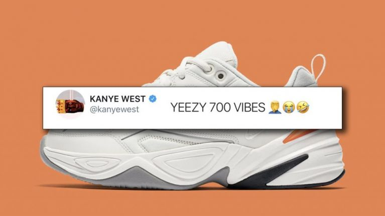 9d148e05697 Kanye West reactivates Twitter to call out Nike for copying his Yeezys
