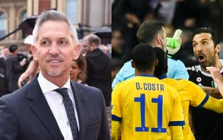 Gary Lineker has called on Gianluigi Buffon to do the right thing about Michael Oliver