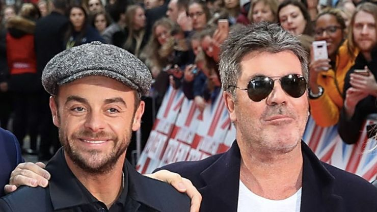 Simon Cowell says Ant will 'get himself back together' after crying on BGT
