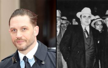 Tom Hardy transforms into notorious gangster Al Capone, and you can't tell them apart
