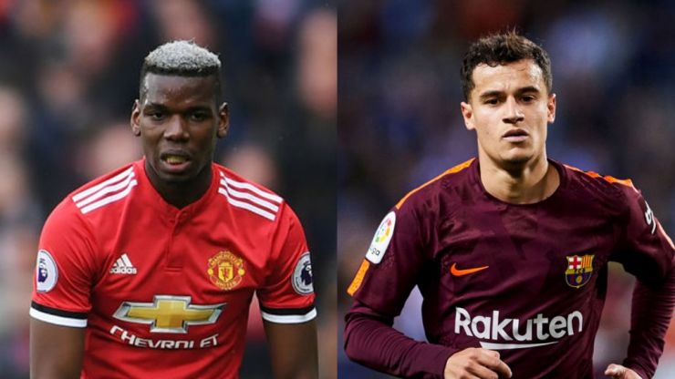 Paul Pogba has been outperformed by Philippe Coutinho in the Premier League this season - even though he left for Barca in January
