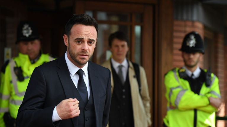 Ant McPartlin sentenced after pleading guilty to drink driving