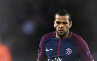 Only one player has won as many trophies as Dani Alves after he wins Ligue 1 with PSG