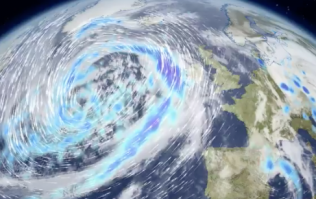Storm Irene is heading towards the UK and it looks like a beast