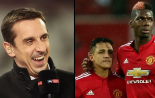 Gary Neville's reaction to Pogba and Sanchez being dropped will divide Man Utd fans