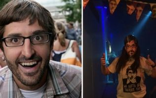 Louis Theroux-themed raves are finally here and they look as benign as you would expect