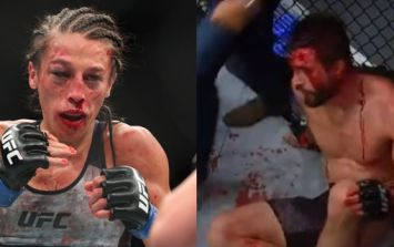 While one former UFC champion receives plaudits for reaction to tough loss, another is being ridiculed for hers