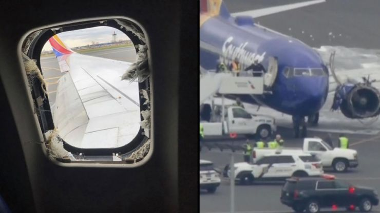 Listen to conversation between pilot and air traffic control after woman sucked out of plane