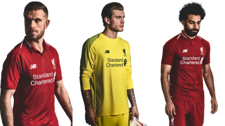 a87cd47f3 Liverpool have launched their new home kit for next season and it s a beauty