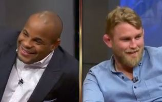 Daniel Cormier's interview with Alexander Gustafsson got really awkward really quickly