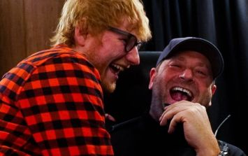 Ed Sheeran's bodyguard has been trolling him all week and it's absolutely glorious