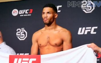 MMA fighter knew he was missing weight before he even stepped on the scales