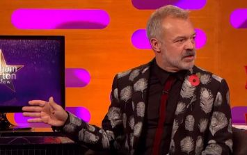 One of our favourite Graham Norton guests returns to the red couch tonight