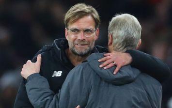 Jurgen Klopp reacts to Arsene Wenger announcing Arsenal departure
