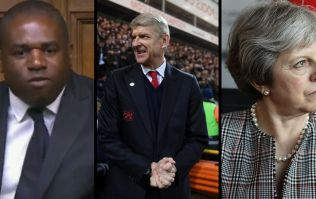 David Lammy uses Wenger resignation to rinse Theresa May