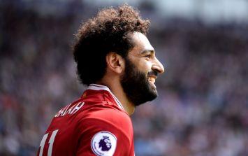 Mo Salah looks set to break a Premier League record only held by Shearer, Ronaldo and Suarez