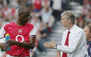 Patrick Vieira responds to links to Arsenal job