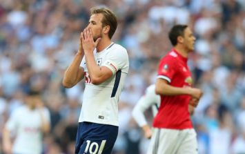 The official FA Cup Twitter account absolutely mugged off Harry Kane after today's semi-final