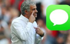Jose Mourinho reveals text message high-profile Manchester United figure sent him before Spurs clash