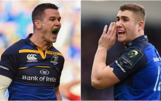 Johnny Sexton reveals what he was shouting at Jordan Larmour during Leinster's victory