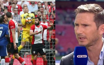 Frank Lampard absolutely spot on as he questions Graham Poll's explanation of disallowed Southampton goal