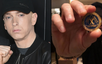 Eminem celebrates 10 years free of drugs and alcohol