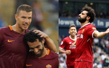 Edin Dzeko reveals what he text Mo Salah after Champions League semi-final draw