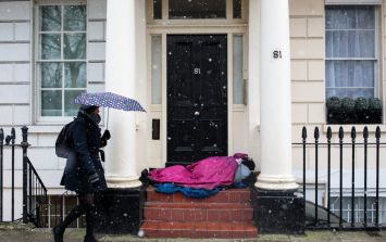 At least 449 homeless people died in the UK last year