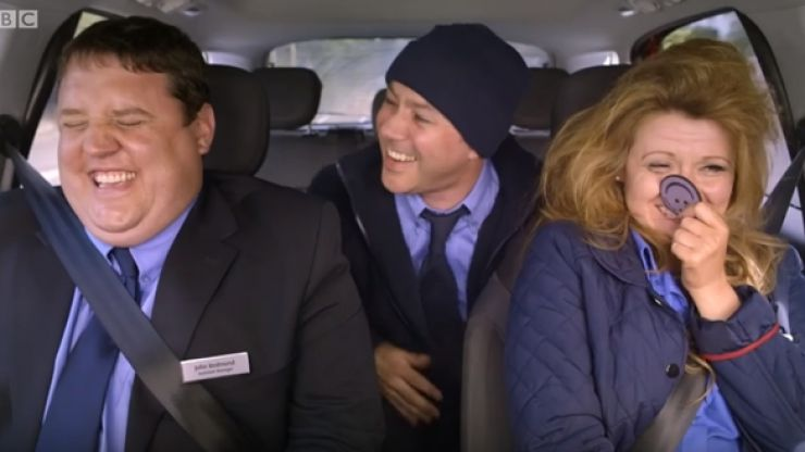 The hilarious outtakes from Peter Kay's Car Share are guaranteed to make you laugh