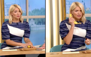 Holly Willoughby uses 'psychic banana' to correctly predict gender of royal baby
