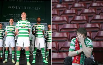 Celtic supporters are furious about the sleeves on next season's home shirt