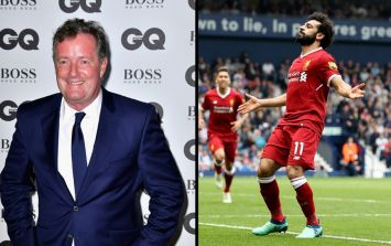 Piers Morgan is getting rinsed for his claims about Mo Salah