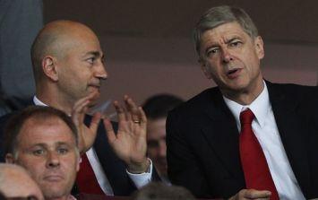 Ivan Gazidis has identified his top target to replace Arsene Wenger