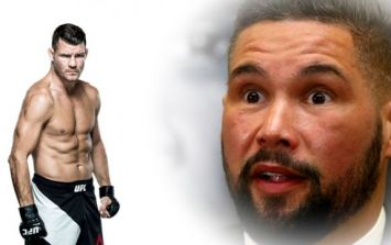 Tony Bellew held talks with the UFC and admits that he'd love to fight Michael Bisping