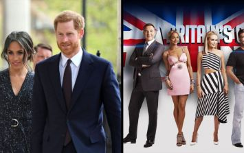 A Britain's Got Talent contestant is performing at the Royal Wedding