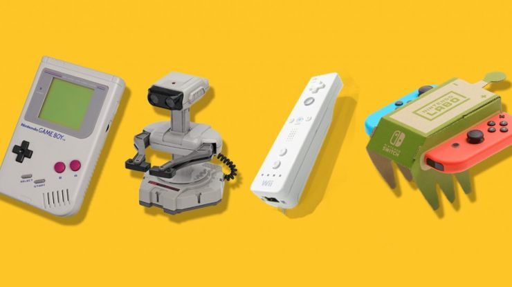The Labo is just the latest way Nintendo changed the DNA of gaming