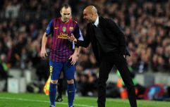 Pep Guardiola trying to convince Andres Iniesta to choose Manchester City over move to China