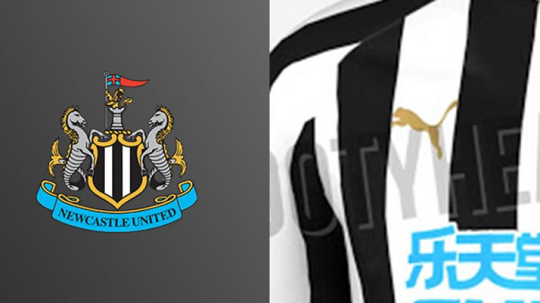 73fc787b5 Images showing Newcastle's 2018/19 home shirt have been leaked | JOE ...