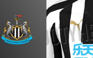 Images showing Newcastle's 2018/19 home shirt have been leaked
