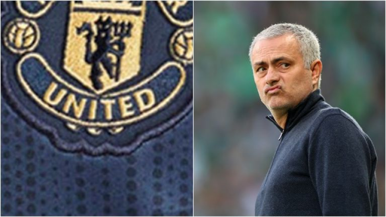 There's something a little bit different about Manchester United's new third kit
