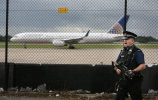 Controlled explosion at Manchester airport after evacuation