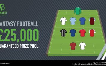 Here's how you can win a share of £25k by playing fantasy football this weekend